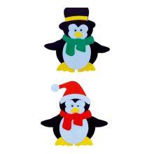 Аппликация 3D Пингвины 2шт.