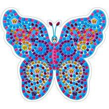 Аппликация бабочка стикерами