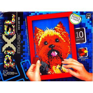 Набор для творчества Мягкая мозаика Pixel. Собака