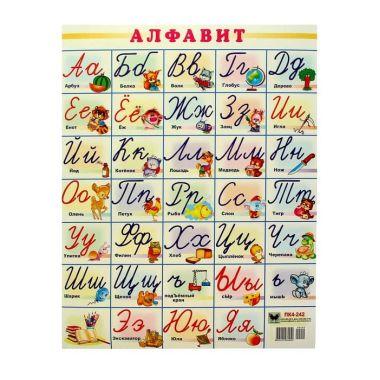 Плакат Алфавит, А2