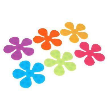 Мини-коврики для ванны Цветочек