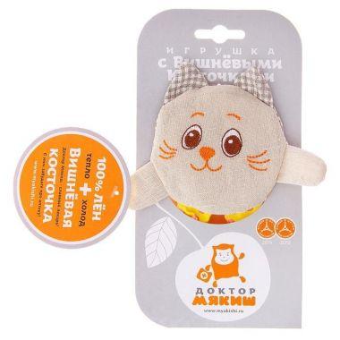 Развивающая игрушка с вишневыми косточками Крошка Кот. Доктор мякиш