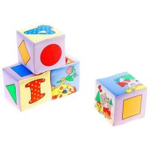 Набор мягких кубиков Колобок