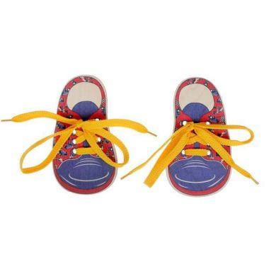 Шнуровка Ботинки-машинки