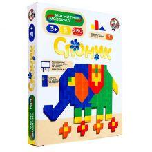 Магнитная мозаика Слоник без игрового поля, 260 элементов