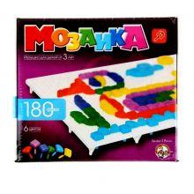 Мозаика квадратная, 180 элементов, 6 цветов