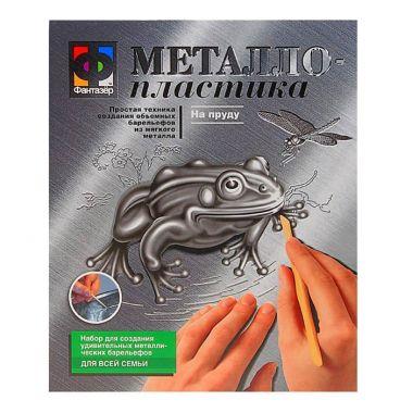 Набор для творчества Металлопластика На пруду - лягушка