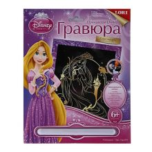 Гравюра с эффектом золота Рапунцель Серия Принцессы Disney