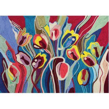 Набор творчества Ниткография. Тюльпаны