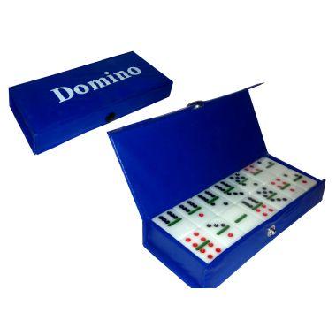 Домино в коробочке на кнопке