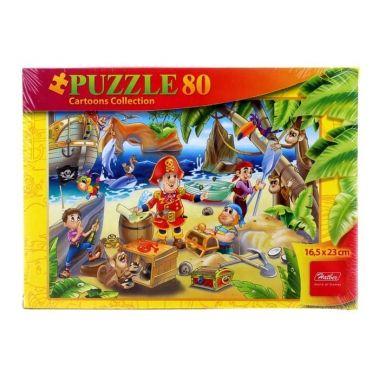Пазлы Остров сокровищ, 80 элементов