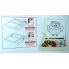 Магнитный конструктор, доска магнитная - меловая-маркерная (в ассортименте) 2