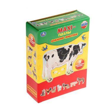 Макси-Пазл Домашние животные. Картинки