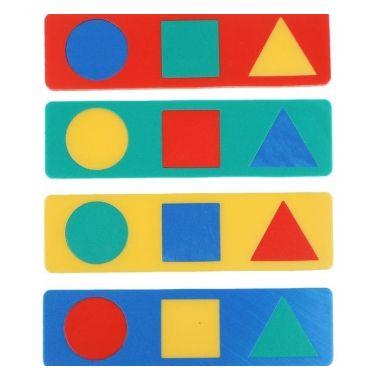 Мягкая мозаика с геометрическими фигурами1