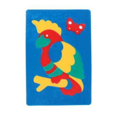 Мозаика Попугай
