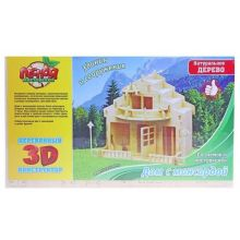 Конструктор 3D Дом с мансардой