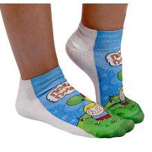 Детские носки Пойдем гулять р-р.14-20 (5-7лет)