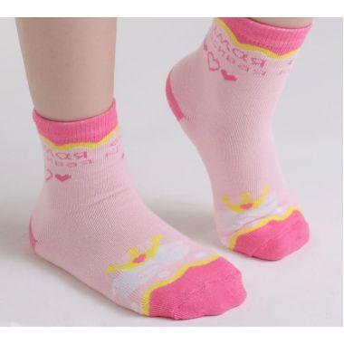 Носки детские Collorista «Самая красивая», возраст 3-7л. (длина стопы 12 см)