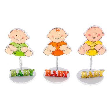 Визитница - прищепка Малыш и игрушки, цвета МИКС