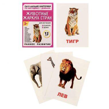 Обучающие карточки по методике Г. Домана Дикие животные