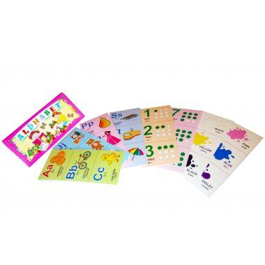 Английский алфавит. Набор разрезных карточек 45 штук.