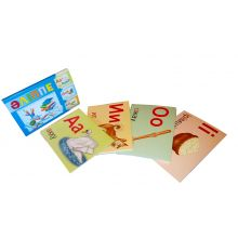 Казахский алфавит 42 карточки
